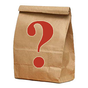 Take a chance on a literary grab bag. Could be a used book from a thrift store or a gift card for Bookman's!