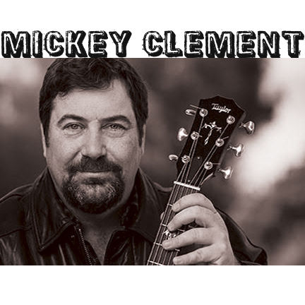 Live musical entertainment with guitar soloist, MICKEY CLEMENT.