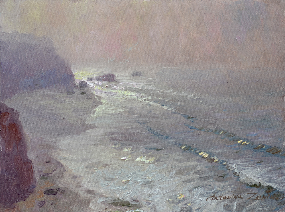 Foggy Morning at Laguna Beach, NOT FOR SALE