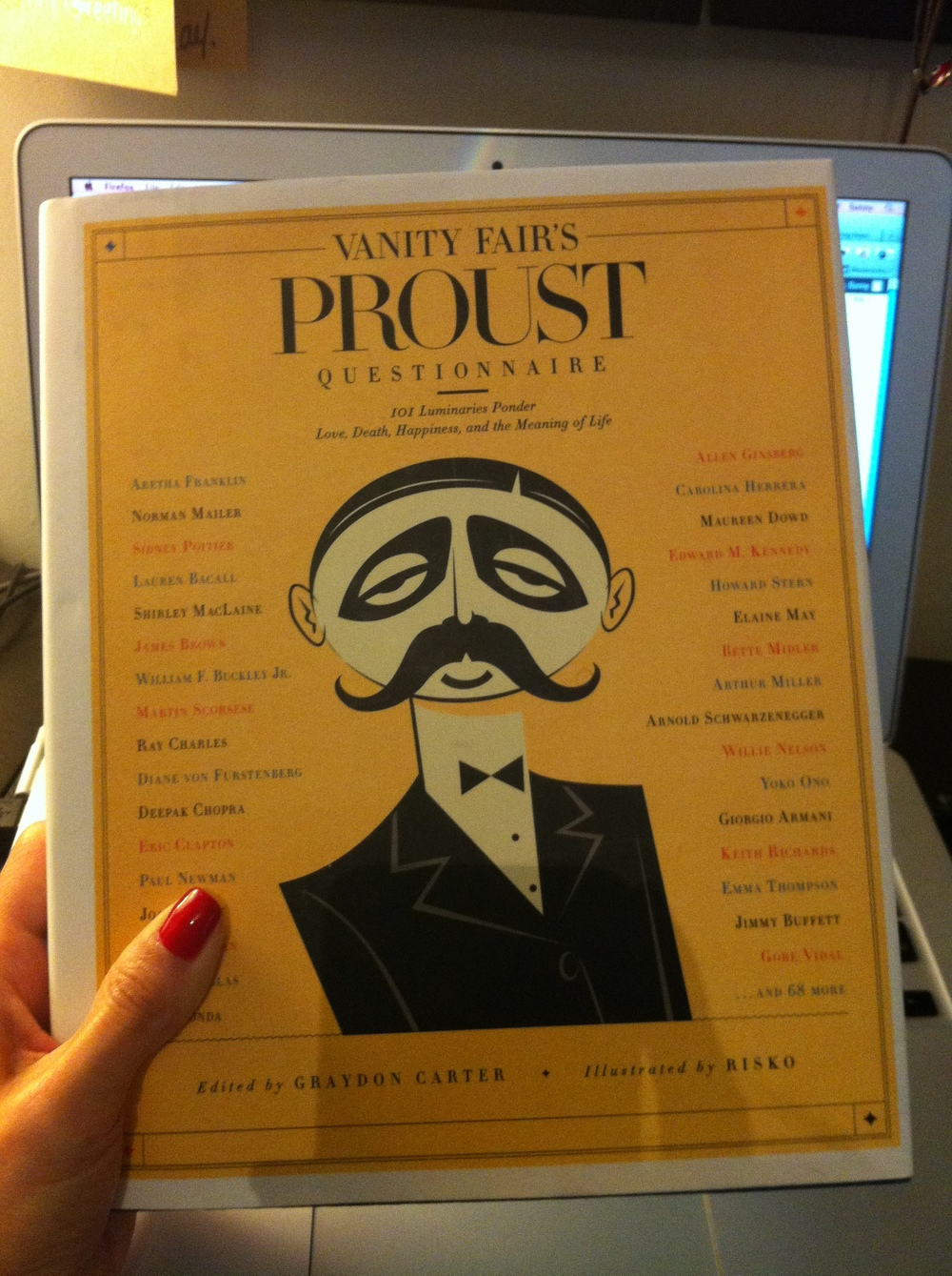 Partly Sunny Vanity Fair Proust