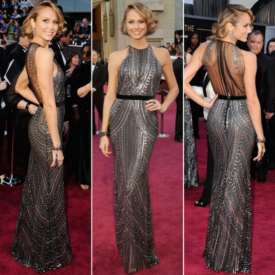 Partly Sunny Oscars Best Dressed Stacy Keibler Naeem Khan