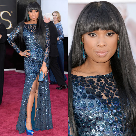 Partly Sunny Oscars Best Dressed Jennifer Hudson Roberto Cavalli