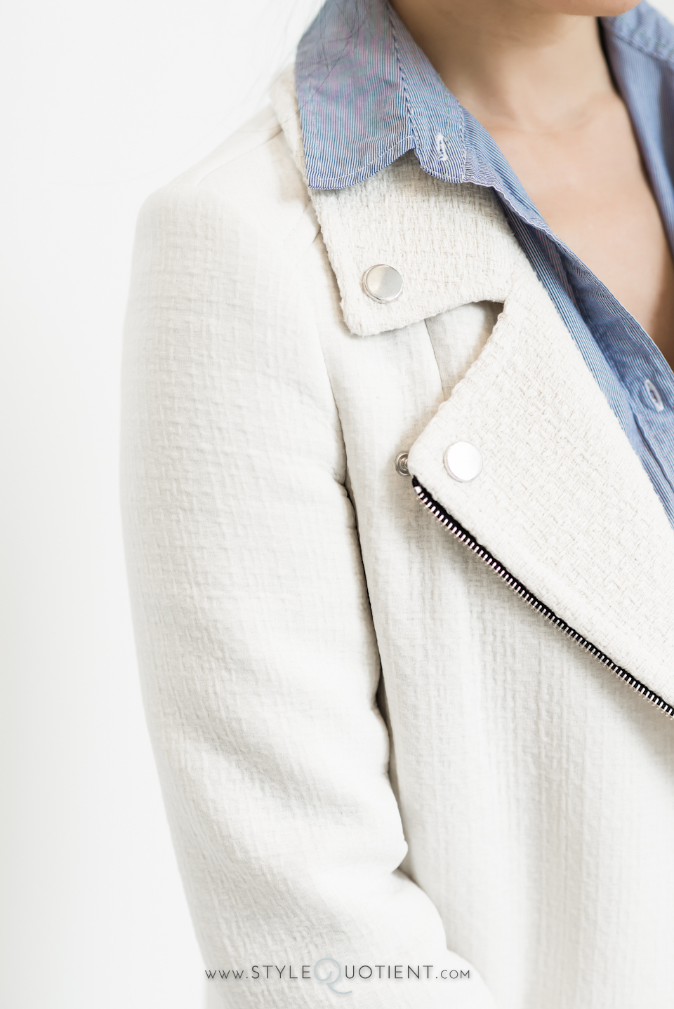 Partly Sunny Style Quotient Zara Motor Jacket