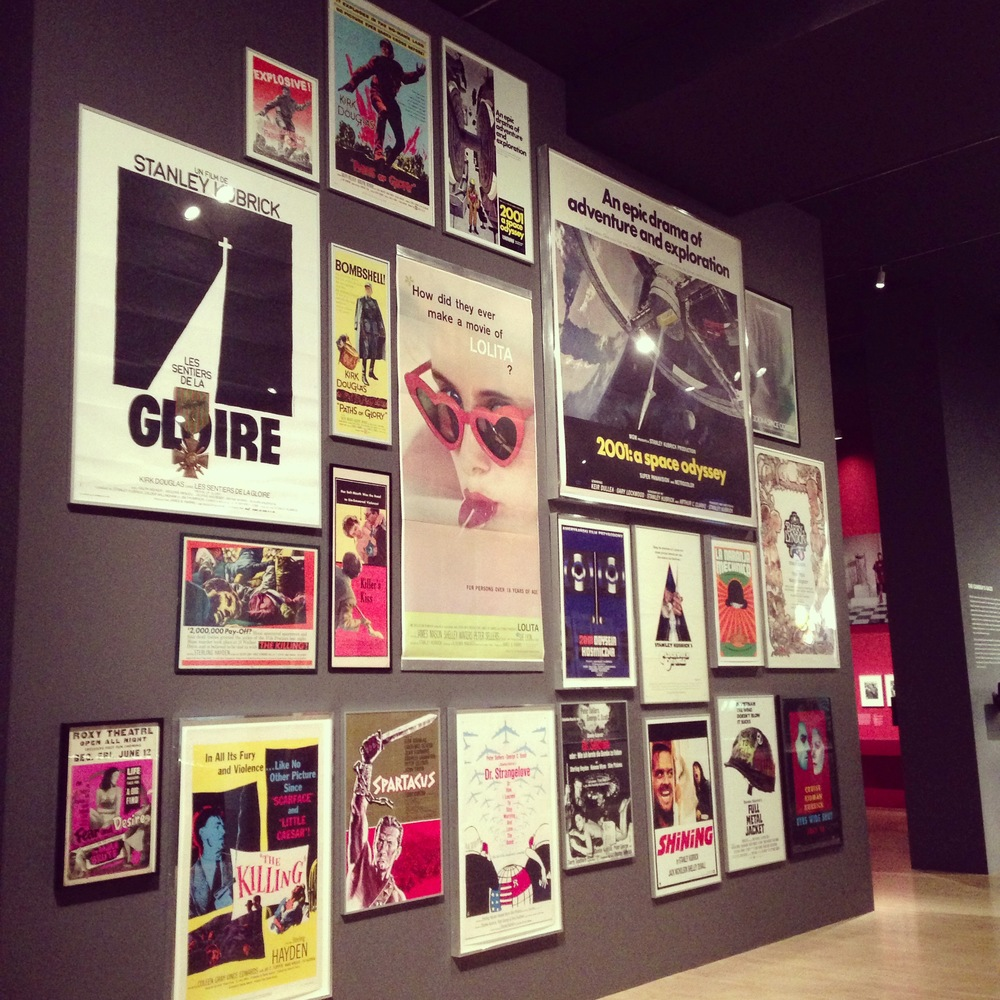 Partly Sunny LACMA Stanley Kubrick Wall