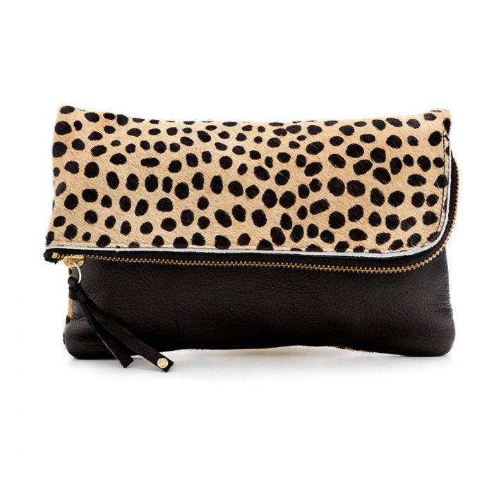 Shut Up I Love This gorjana Cheetah Perry II Clutch