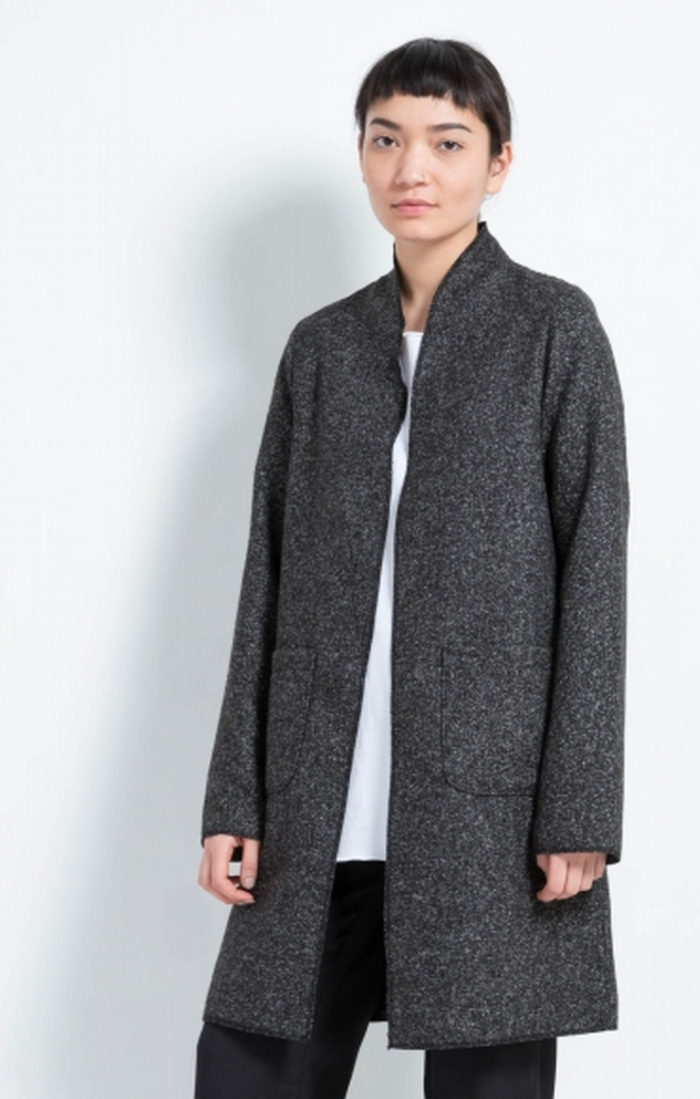Oak and Fort Long Cardigan