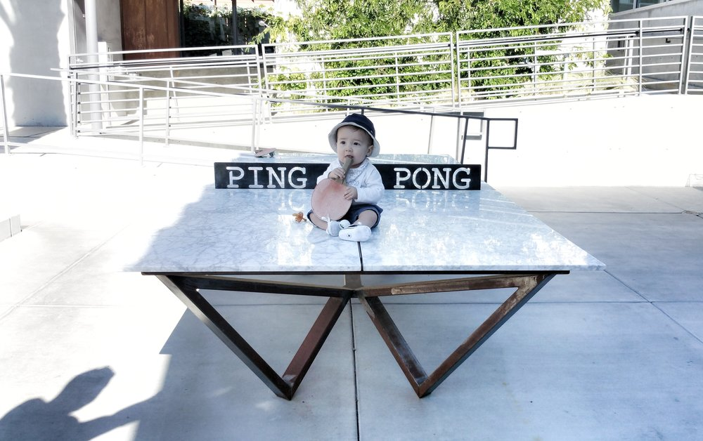 Anyone for some ping pong?