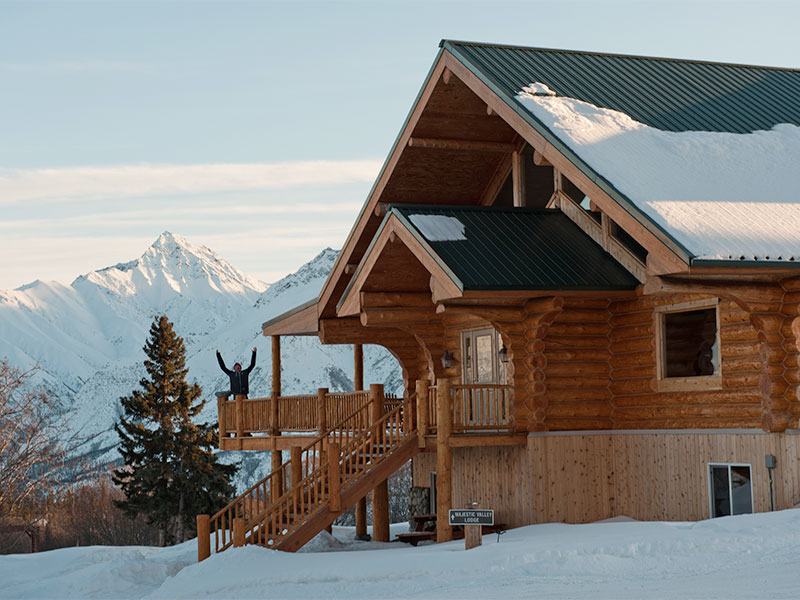 Photo: © 2015 Majestic Heli Ski Alaska