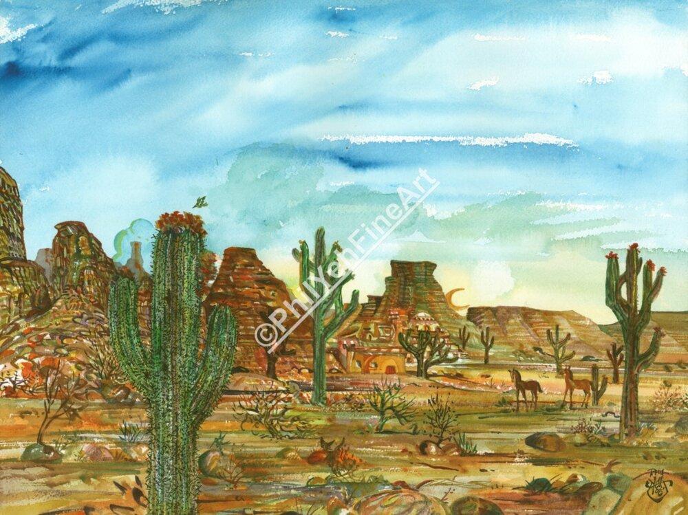 A Thriving Desert