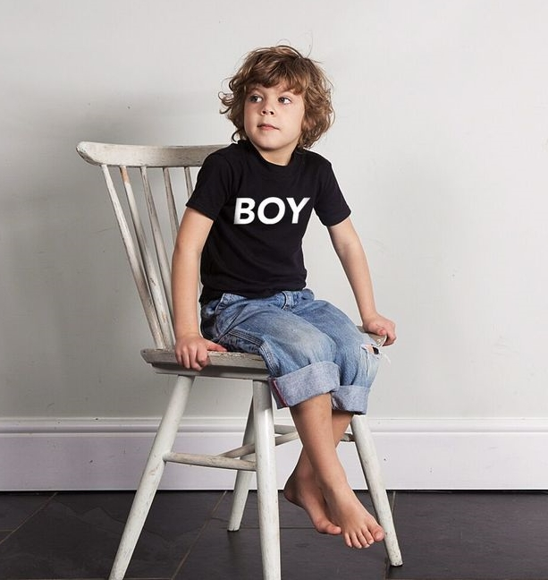 Image: Wild Boys & Girls.  SHOP: Boy Tee