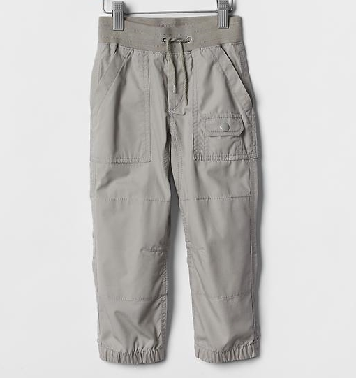 Pull-on hiker pants