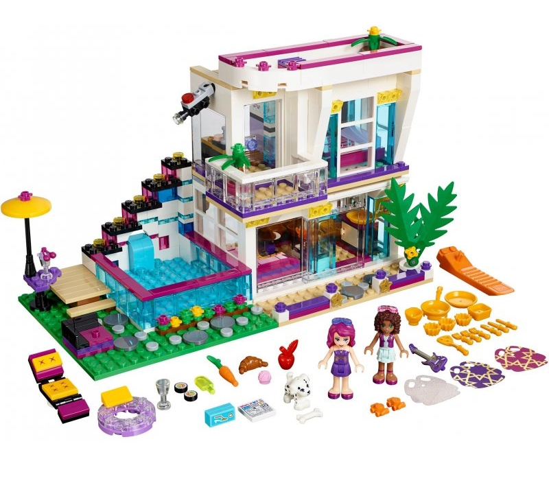 Lego Friends Livi's Pop Star House