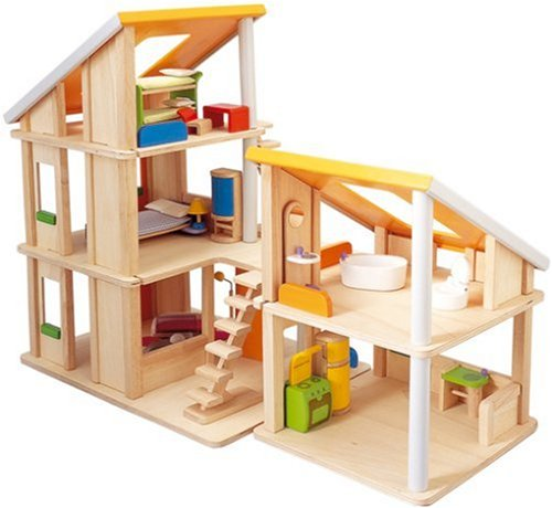 Plan Toys Chalet House With Furniture