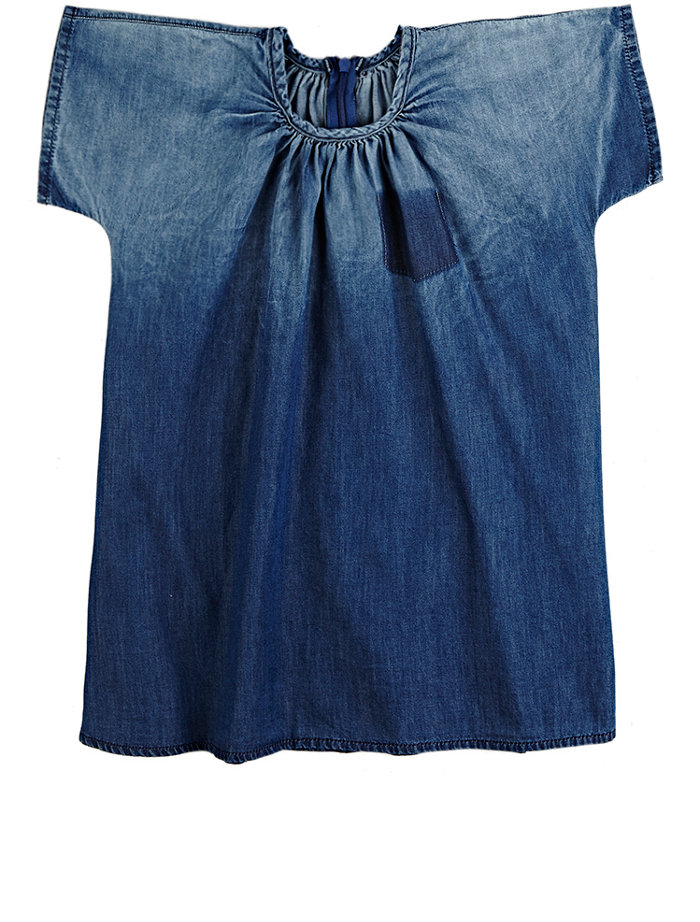 OMAMIMINI Ombré Chambray Swing Dress