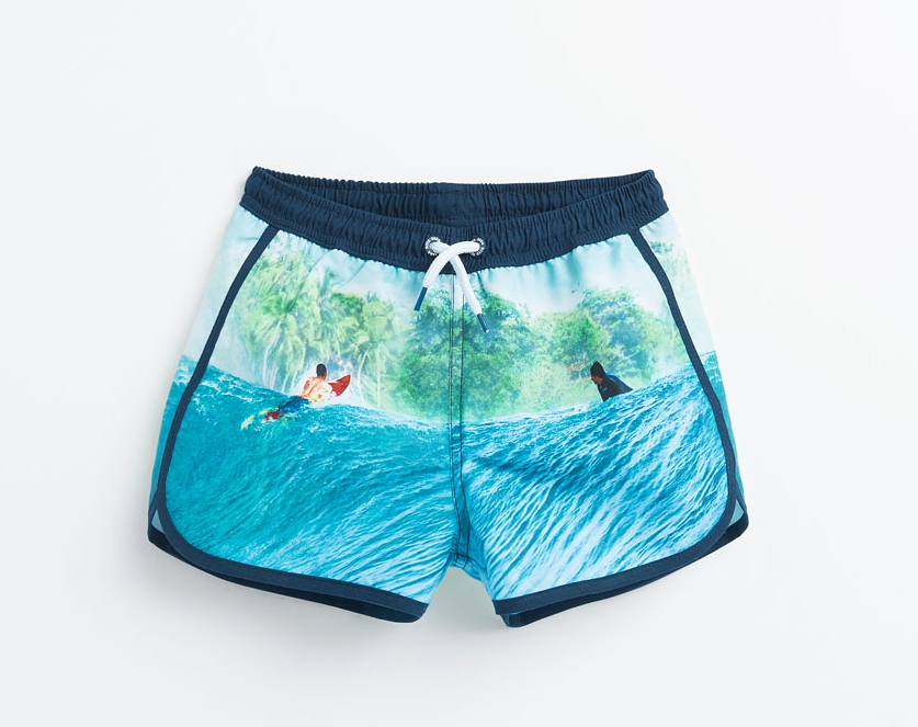 ZARA: Bermuda Swim Shorts