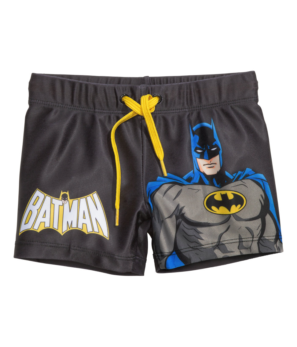 H&M: Batman Swim Shorts