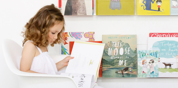 If your kids can see their books, they'll be more likely to read them! Shop: Ubabub Booksee Shelves