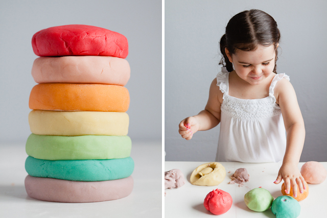 Homemade Play-Dough by Modern Parents Messy Kids