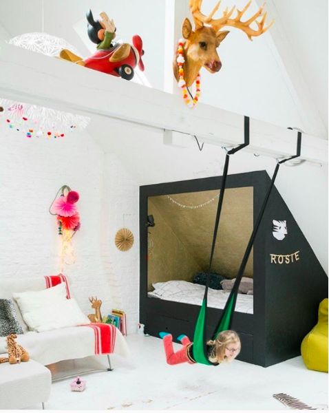The Benefits Of An Indoor Swing For Active Kids. | WOLF & FRIENDS