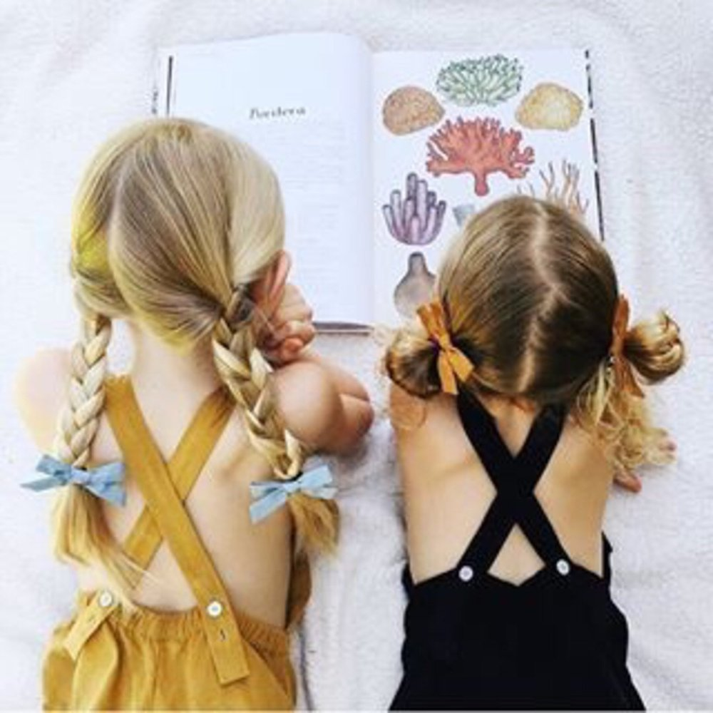Love these hair bows? Get them at  Wunderkin