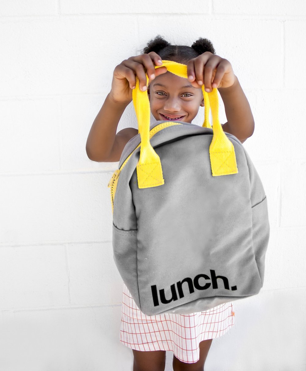 Pack their favorite crunchy snacks in a cute lunch bag.