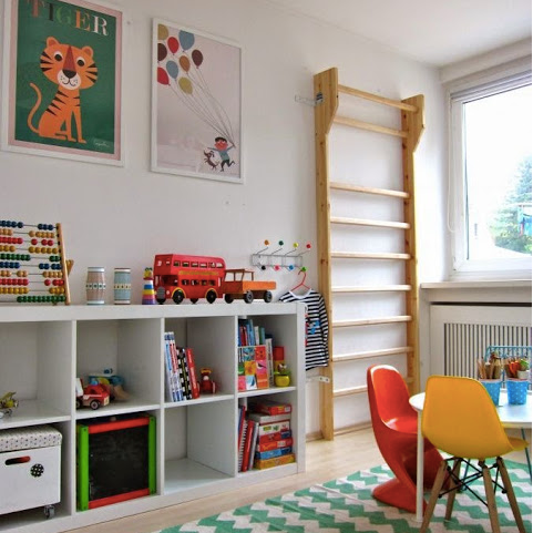 Playroom Must-Haves - Modern Finds That Will Keep Active Kids Engaged + Entertained.
