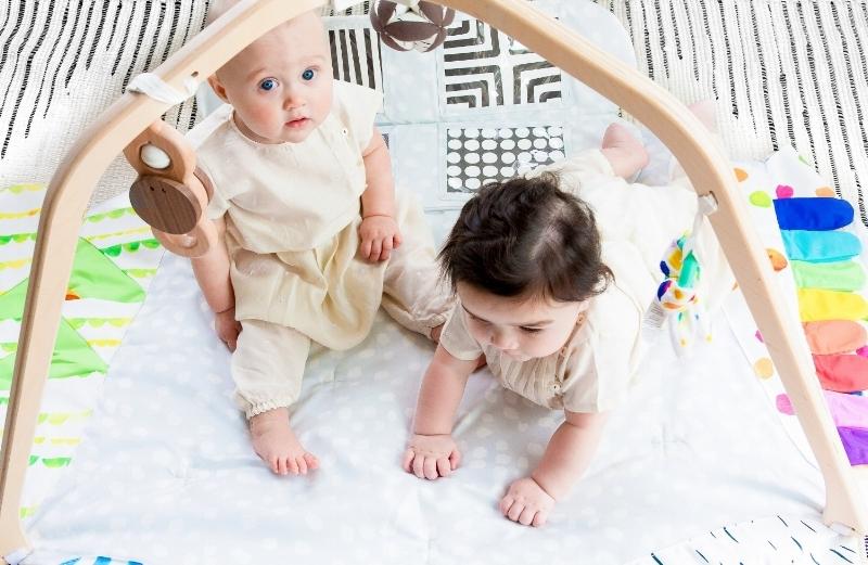 Anna Kate, 9 months,Kai age 6 months