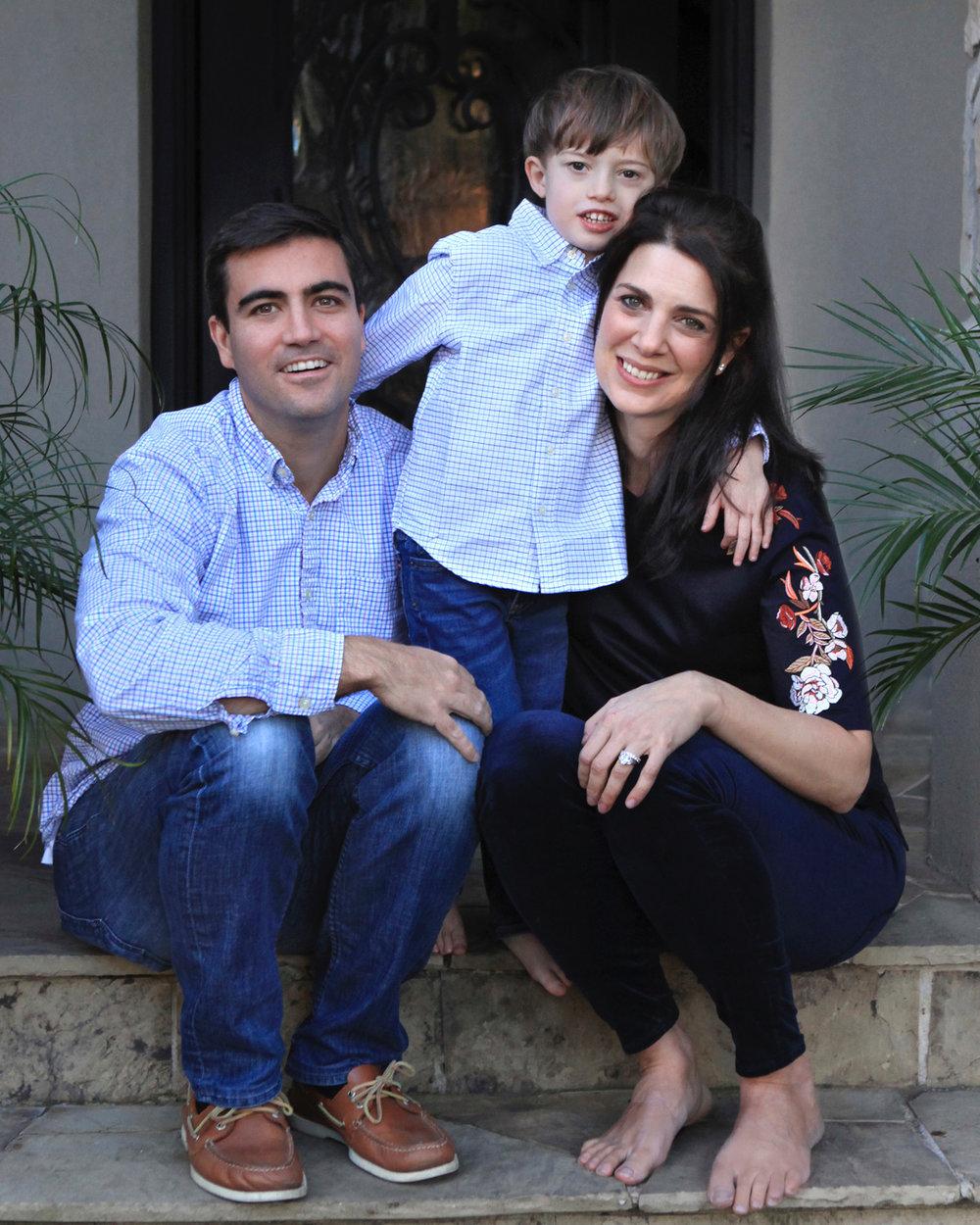 Eve Tedeschi and family