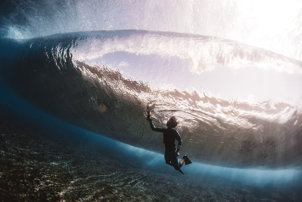 surf photographer pipeline - matt porteous