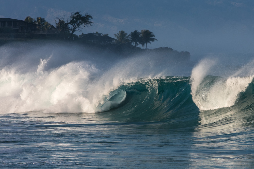 Waimea shore break