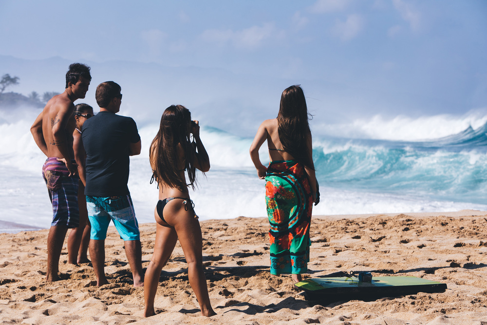 Bums and waves