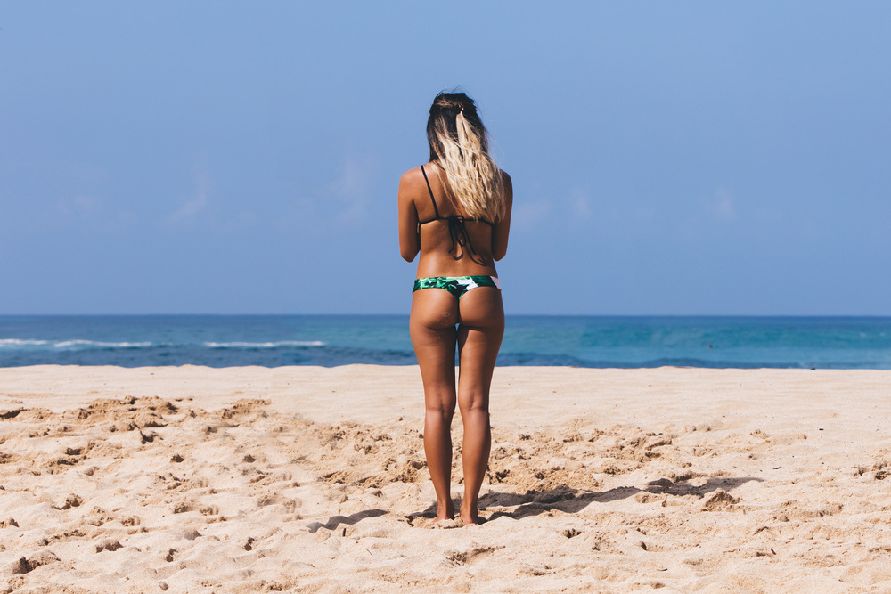 Hawaiian Bum waimea bay