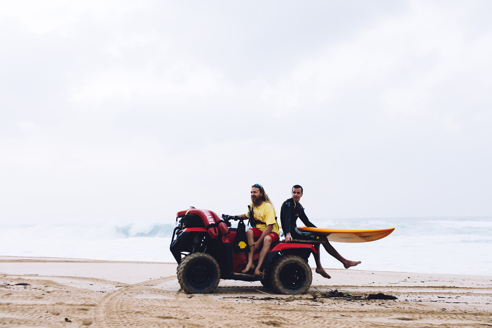 north shore life guards Waimea