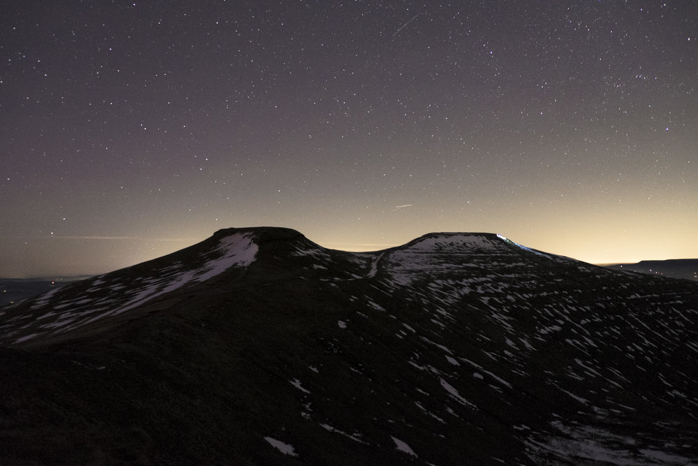 Night Walk Pen Y Fan