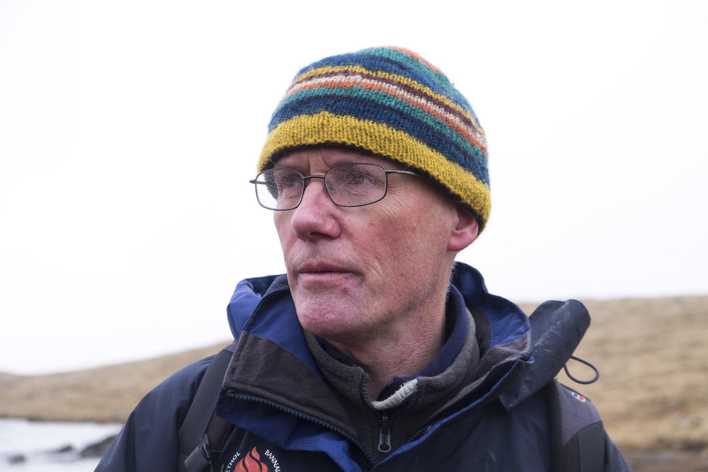 Alan's expertise helped to bring the geology of the Beacons to life.