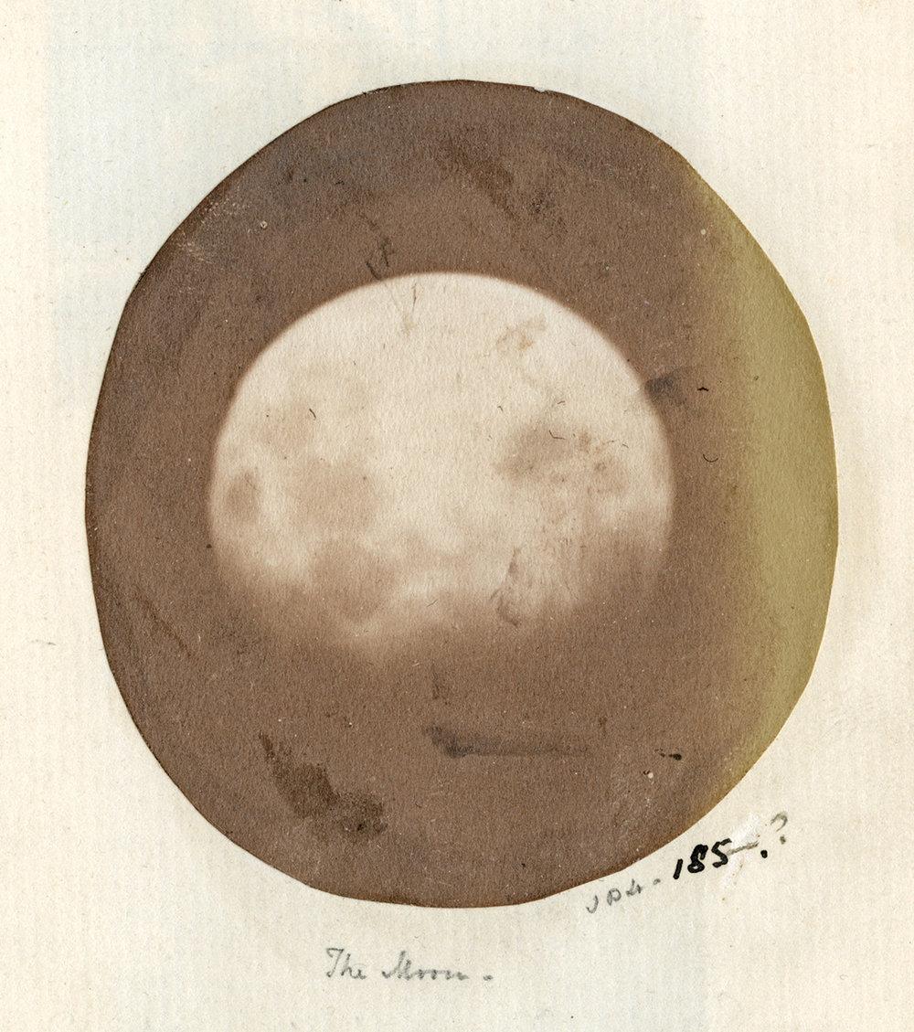 The Moon, Thereza Dillwyn-Llewelyn and John Dillwyn Llewelyn, 1854-55