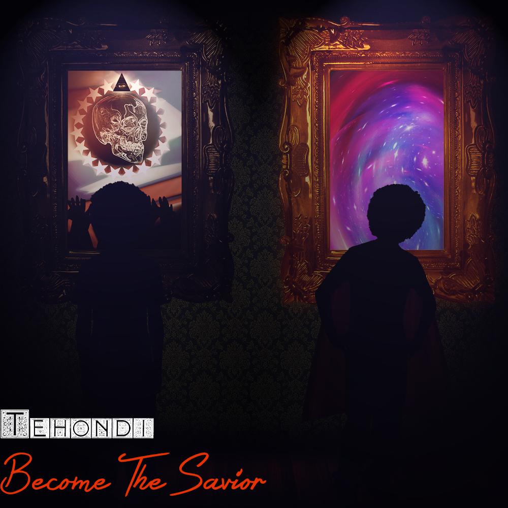 "Album Cover for Tehondi's 2014 album ""Become The Savior""."