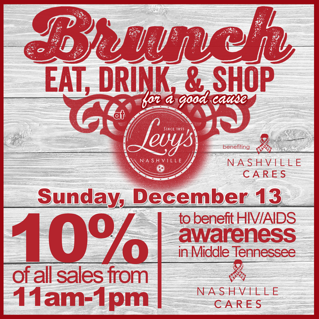 Levy's Nashville Cares Brunch