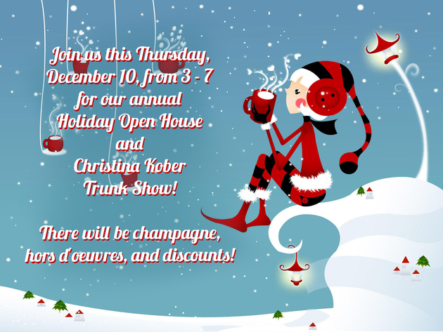 Moda Holiday Open House