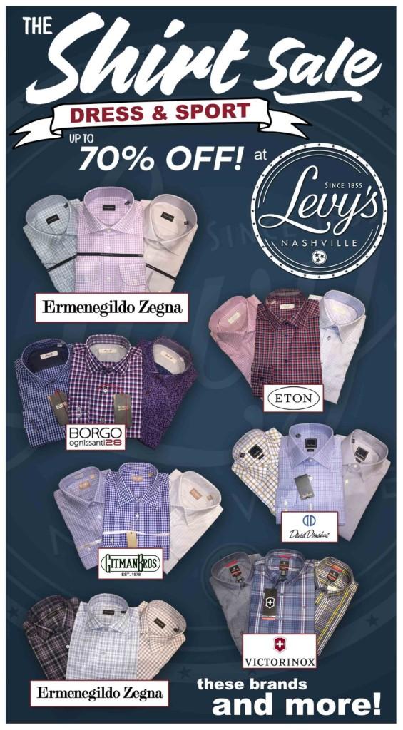 Levys Shirt Sale
