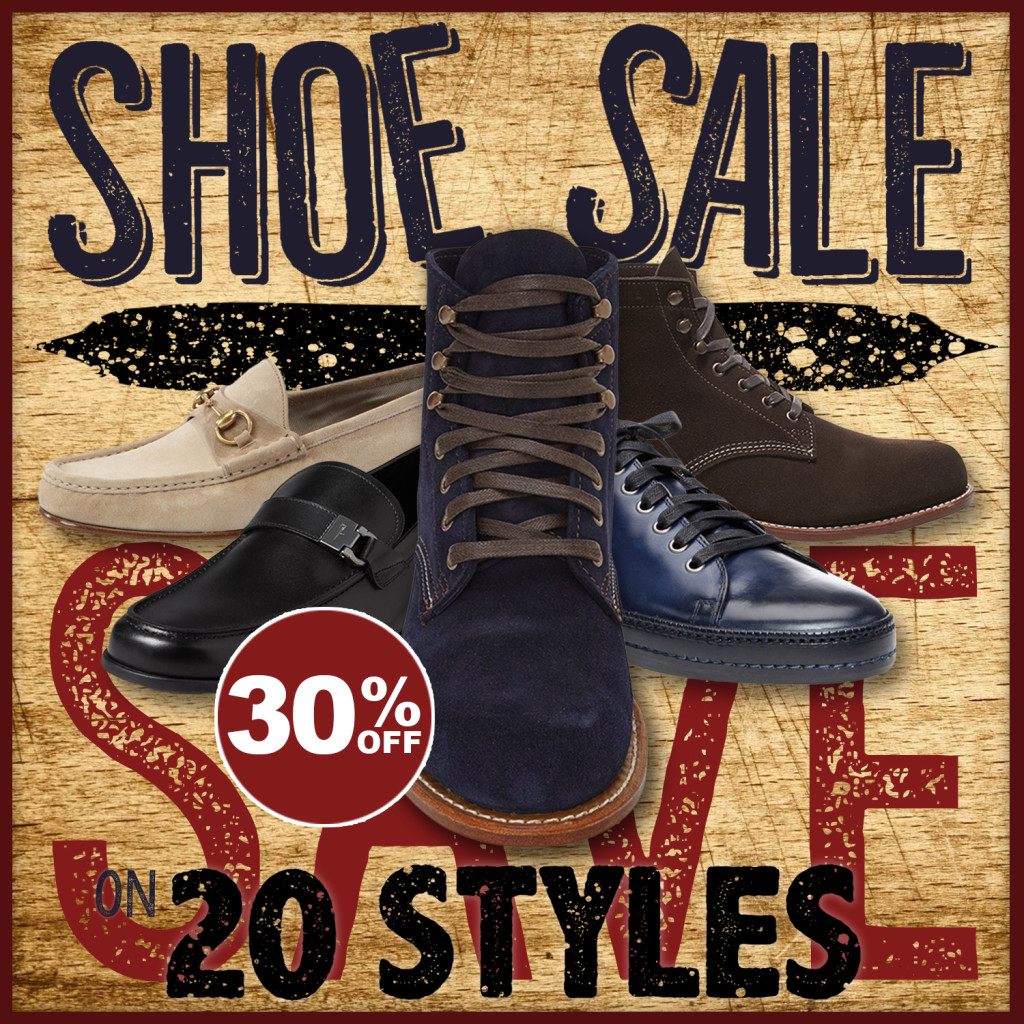 Levy's Shoe Sale
