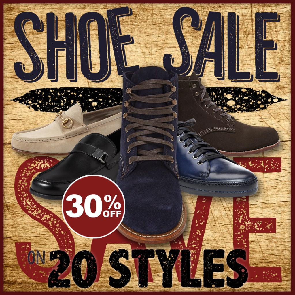 Levy's Shoe Sale