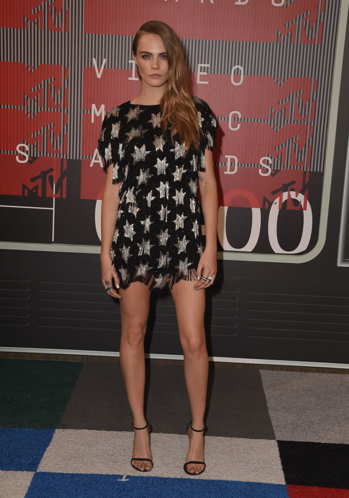 Cara Delevingne_Saint Laurent_MTV VMAs