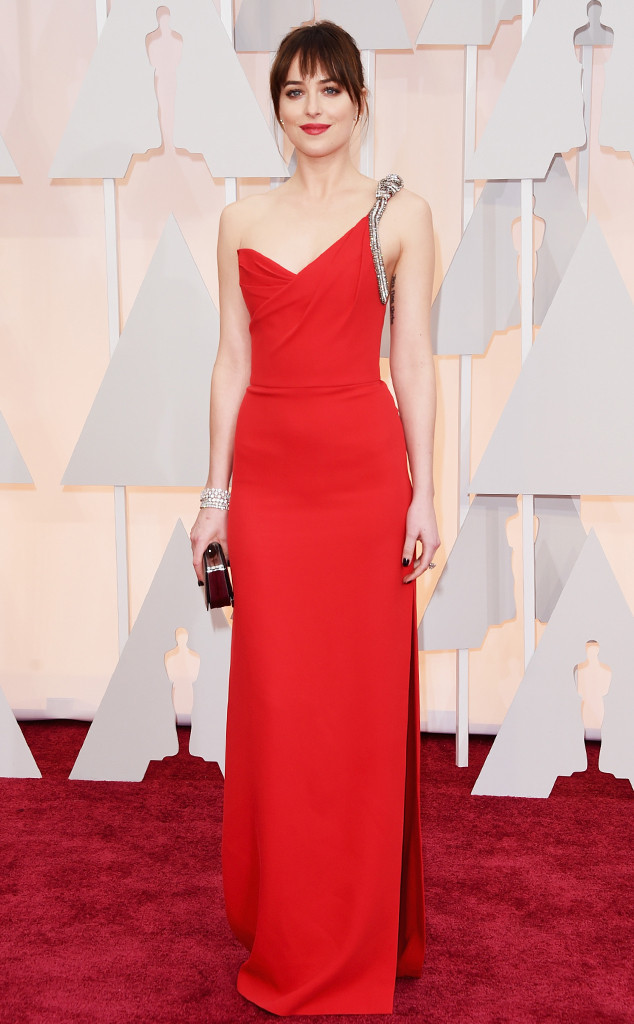 Dakota Johnson_Saint Laurent_Oscars