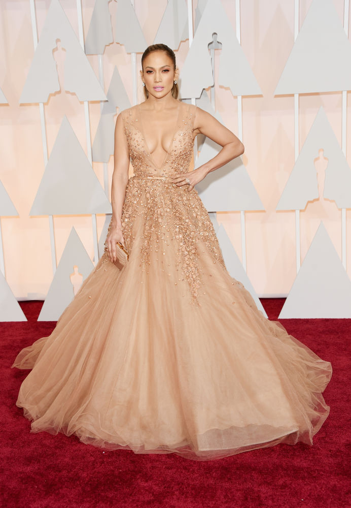 Jennifer Lopez_Elie Saab_Oscars