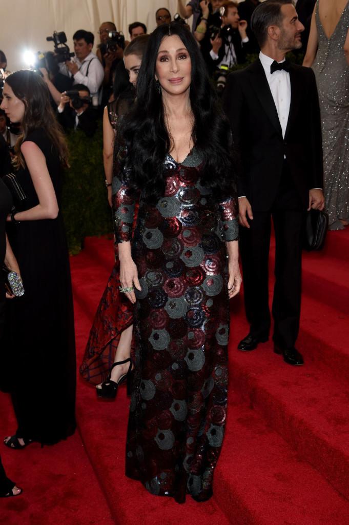 Cher Marc Jacobs Met Gala
