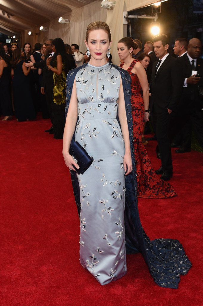 Emily Blunt Prada Met Gala