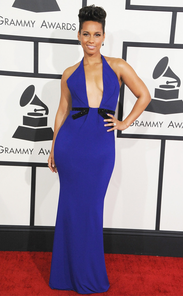 Alicia Keys Armani Prive Grammys