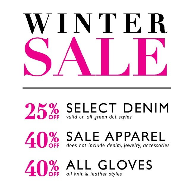 Soca Winter Sale