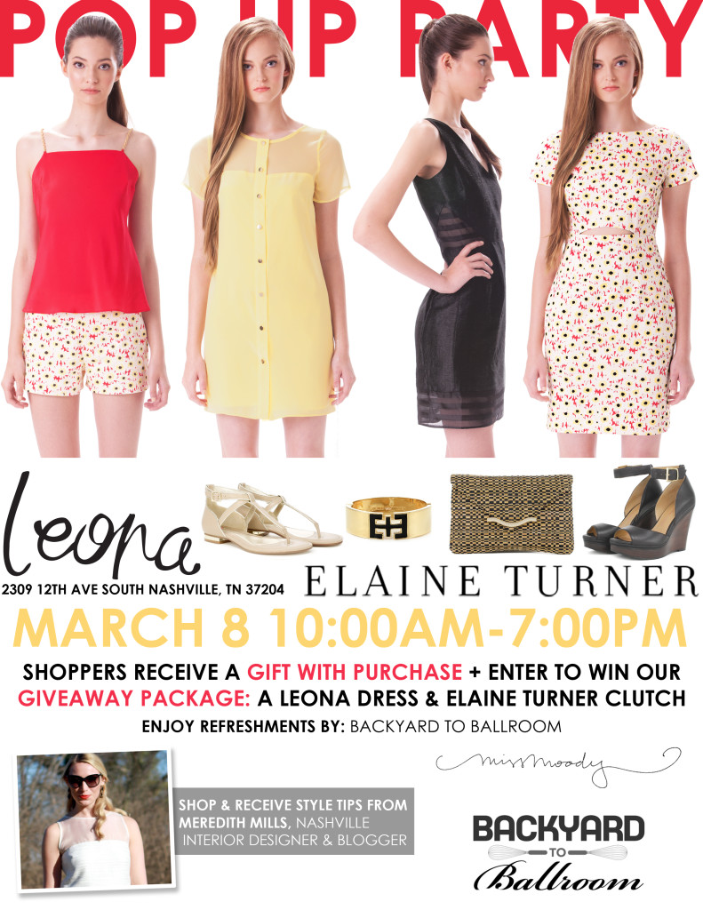 Leona Elaine Turner pop up